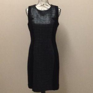 Milly black sheath dress